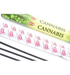 Encens parfum Cannabis. Lot de 100 bâtonnets marque HEM