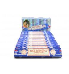 Encens Nag Champa. Pack économique 12x15gr. environ 140 bâtonnets. marque Satya Sai Baba