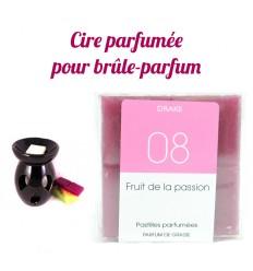 """Pastilles de cire parfumée, senteur """"Fruit de la passion"""" par Drake"""