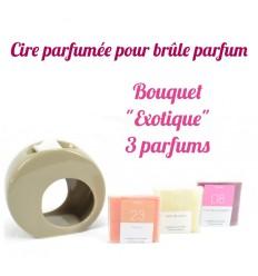 """Pastilles de cire parfumée. Bouquet """"Exotique"""" 3 parfums - Drake"""