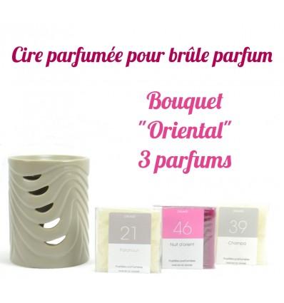"""Pastilles de cire parfumée. Bouquet """"Oriental"""" 3 parfums - Drake"""