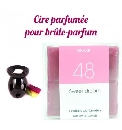 """Pastilles de cire parfumée, senteur """"Sweet Dream"""" par Drake"""