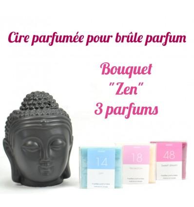 """Pastilles de cire parfumée. Bouquet """"Zen"""" 3 parfums - Drake"""
