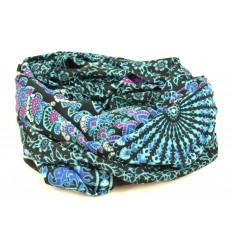 Sarong indonésien 170x115cm paréo de plage, grand foulard, batik...