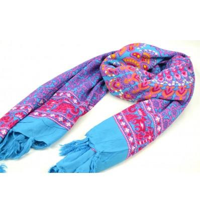 Sarong de Bali 170x115cm paréo de plage, grand foulard, batik...