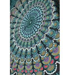 Sarong de Bali 170x115cm paréo de plage, grand foulard, ou tenture murale.