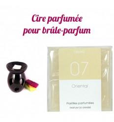 """Pastilles de cire parfumée, senteur """"Nuit d'Orient"""" par Drake"""
