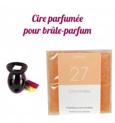 """Pastilles de cire parfumée, senteur """"Citronnelle"""" par Drake"""