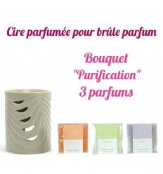 """Pastilles de cire parfumée, Bouquet """"Purification"""" 3 parfums - Drake"""