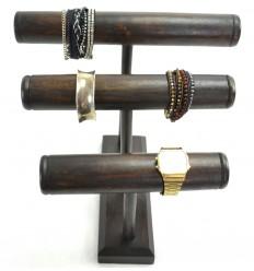 Présentoir rangement montres pratique original bois