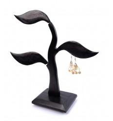 Arbre à bijoux, rangement boucles d'oreilles original et pas cher.