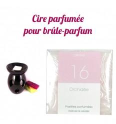 """Pastilles de cire parfumée, senteur """"Orchidée"""" par Drake"""
