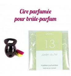"""Pastilles de cire parfumée, senteur """"Jardin du Nil"""" par Drake"""