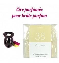 """Pastilles de cire parfumée, senteur """"Cannelle"""" par Drake"""
