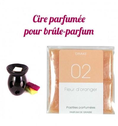 """Pastilles de cire parfumée, senteur """"Fleur d'Oranger"""" par Drake"""