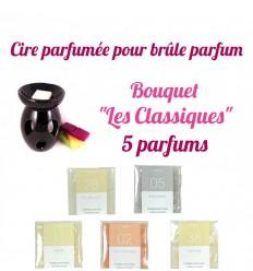 """Pastilles de cire parfumée, Bouquet """"Les Classiques"""" 5 parfums - Drake"""