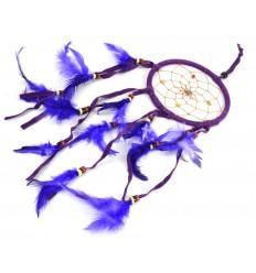Attrape-rêves / attrape-cauchemar 45x12cm - Violet Funky !
