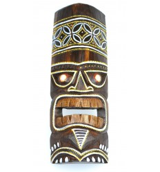 Acheter petit masque tiki en bois pas cher. Décoration Tiki tahiti.
