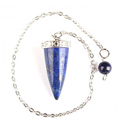 Pendule ésotérique en lapis lazuli, communication extra-sensorielle.
