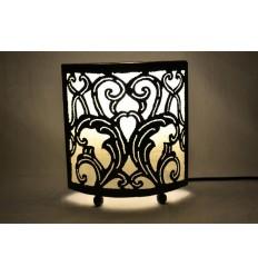Lampe poser originale exotique orientale ethnique chic for Lampe de chevet orientale
