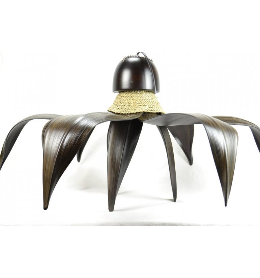 Acheter un lustre plafonnier style exotique ethnique chic