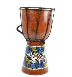 Achat Djembé pour débutant H30cm fabriqué par un artisan spécialisé.