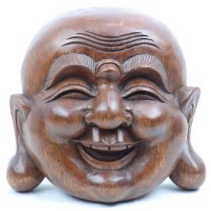Bouddha chinois en bois