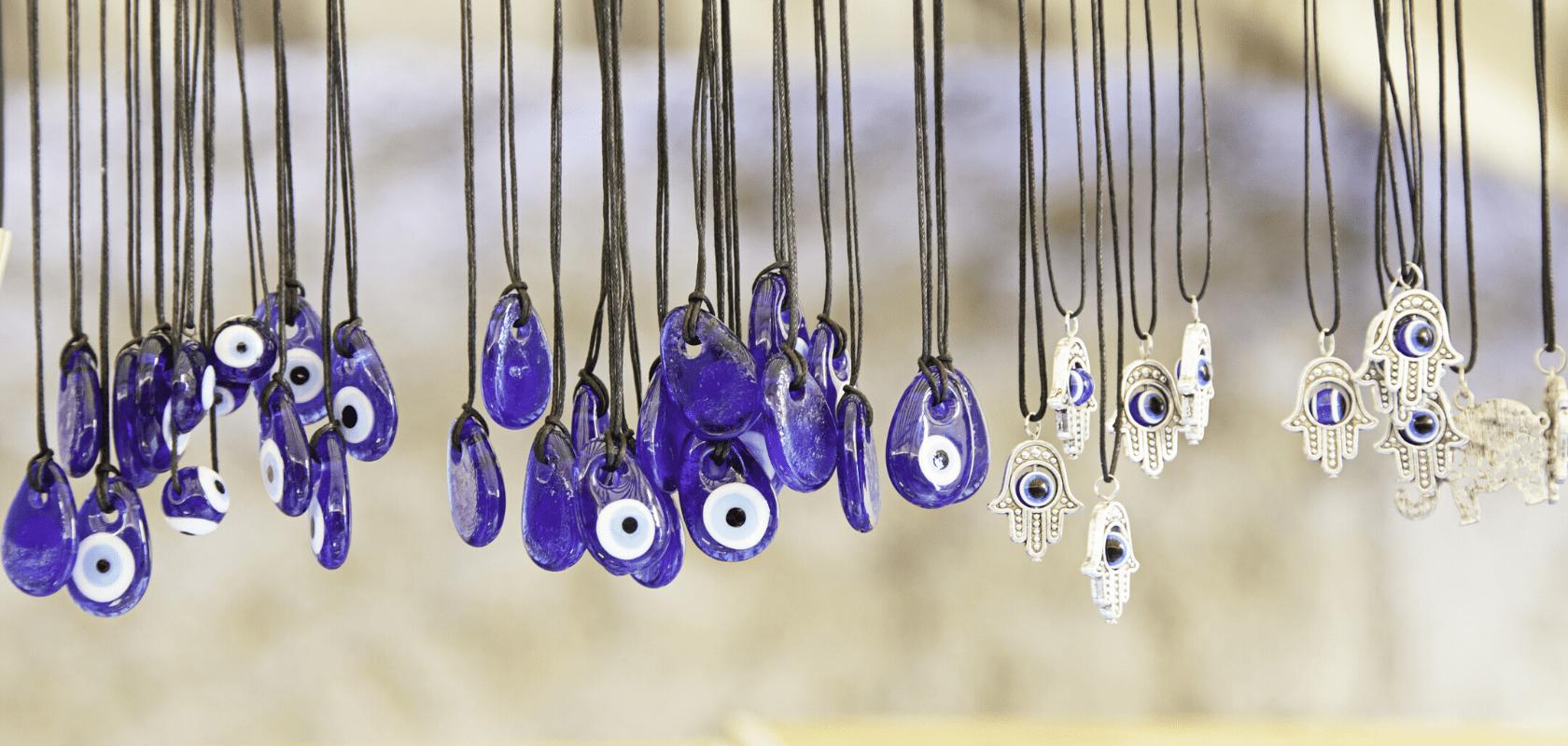 bijoux oeil bleu turc protection mauvais oeil