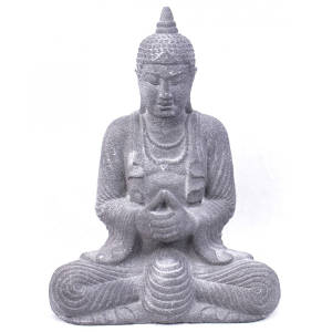 Statue de Bouddha en pierre