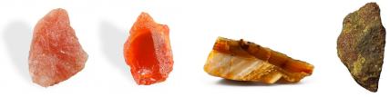 pierres de protection par aide au rayonnement
