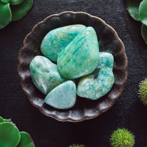 amazonite pierre naturelle lithothérapie