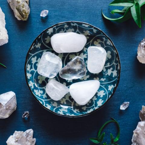 cristal de roche pierre naturelle lithothérapie