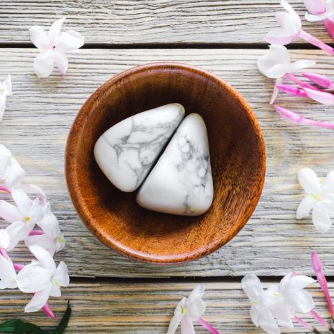 howlite pierre naturelle lithothérapie