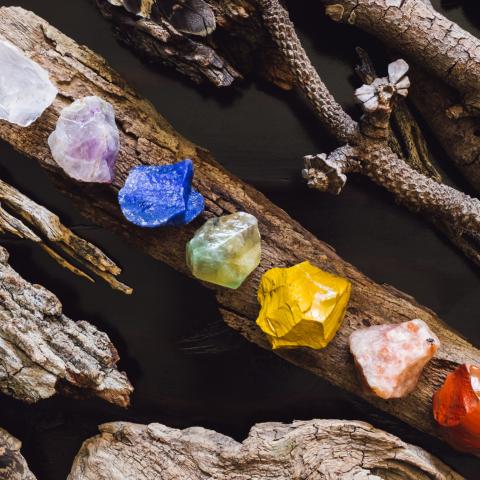 pierres 7 chakras pierre naturelle lithothérapie