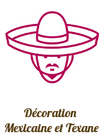 Décoration mexicaine texmex